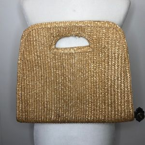 Vintage basket bag clutch